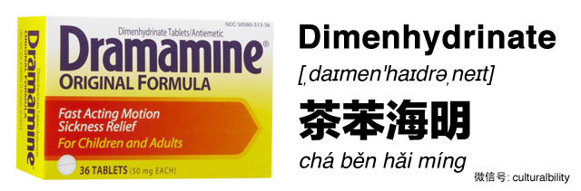 dramamine dimenhydrinate in chinese western medicine in china culturalbility