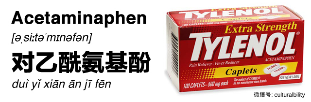 tylenol in chinese western medicine in china culturalbility