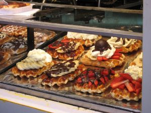 belgian waffle chocolate fruit foods of the world china culture culturalbility