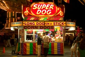 corn dog stand foods world culture china culturalbility