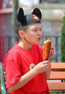 corn dog disneyland foods world culture china culturalbility